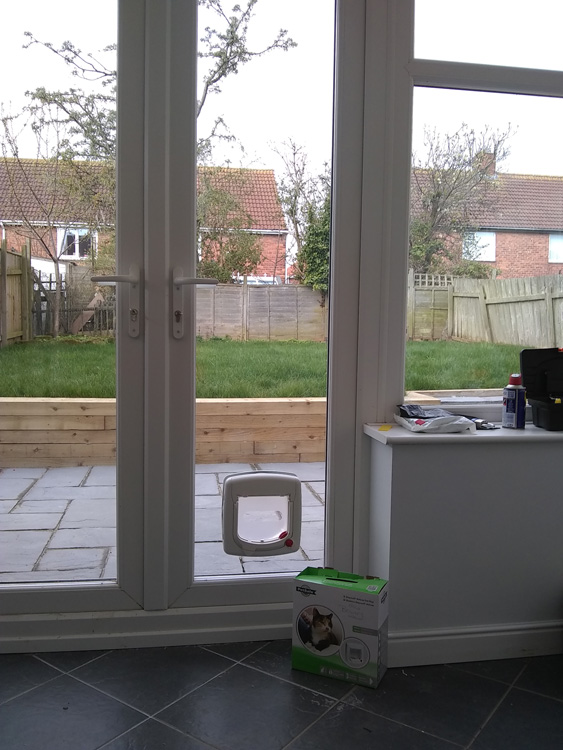 Cat flap fitters North Shields
