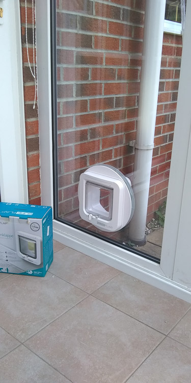 Cat flap fitters West Denton and Newcastle