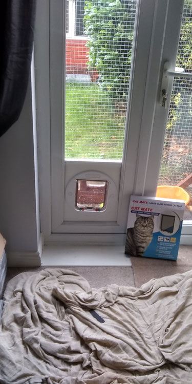 Cat and dog flap fitters Blaydon and Gateshead