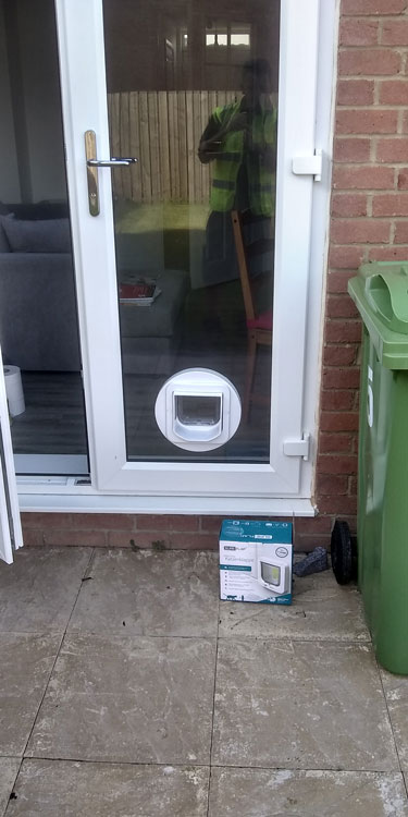 Cat and dog flap fitters Ryhope and Sunderland