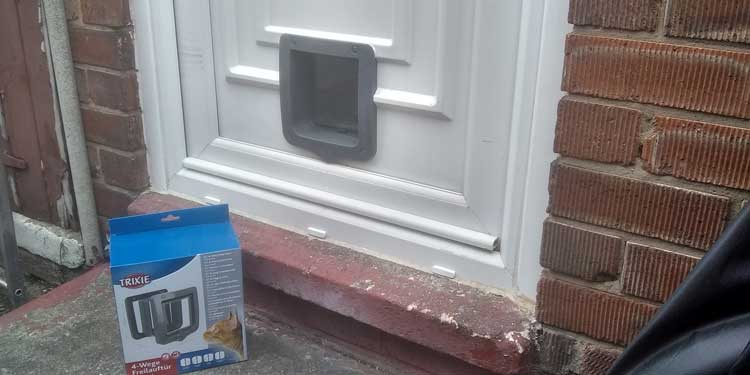Cat and dog flap fitters Slatyford and Newcastle