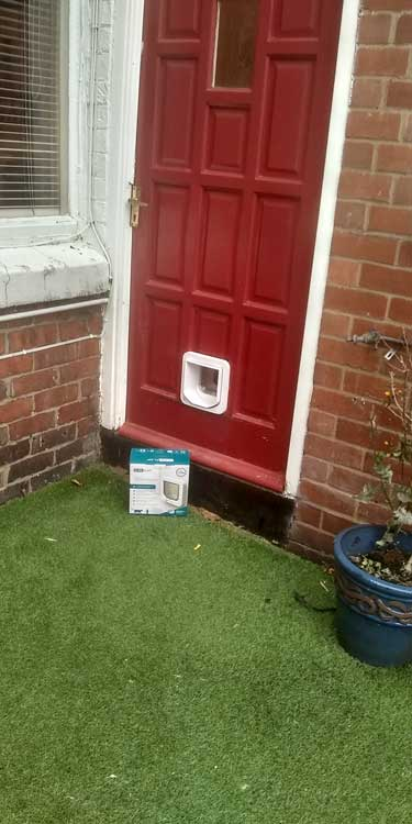 Cat and dog flap fitters South Shields