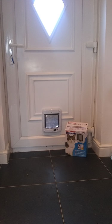 Cat and dogflap fitters Bensham and Gateshead