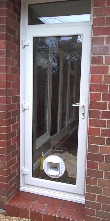 Cat and dogflap fitters Gosforth and Newcastle