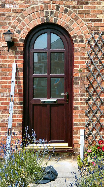 North East Doors, PVCu and andy colour composite doors