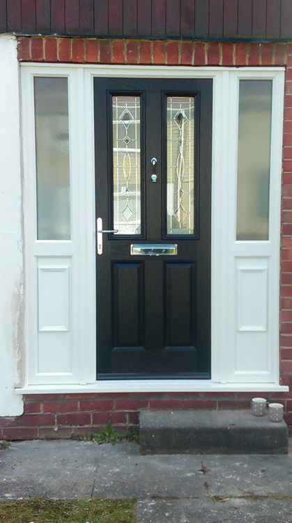 any colour bespoke composite doors North East