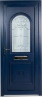 blue pvcu coloured doors