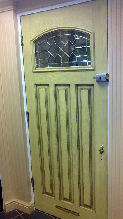 Coloured Composite Doors With Yale Locks Newcastle Upon Tyne