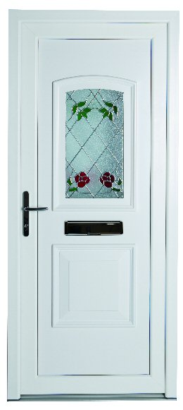 white coloured pvcu doors newcastle