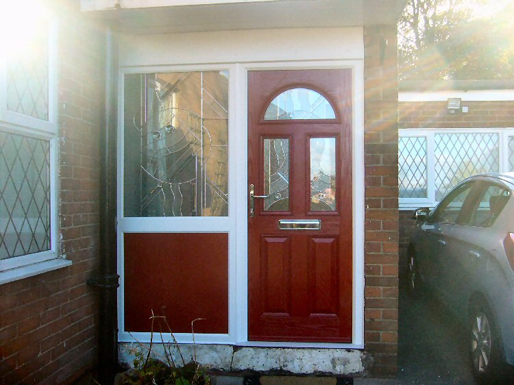Composite front doors Newcastle