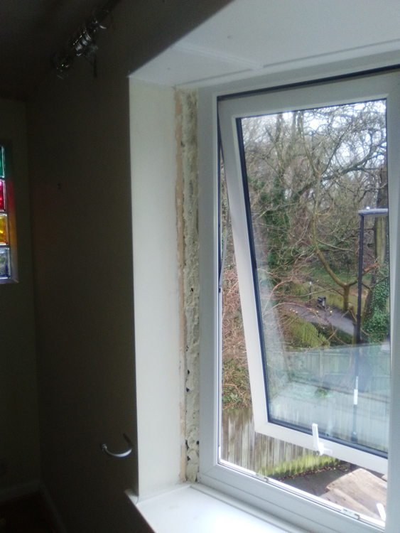 a rated double glazing units with acoustic glass north