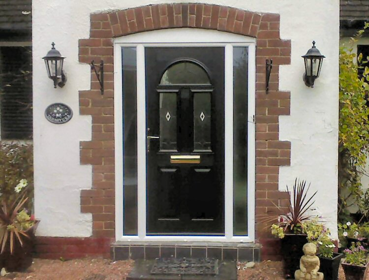Great value Solidor composite door fitters Newcastle