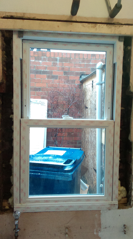 Rehau PVCu sash windows Newcastle and Durham