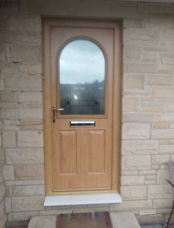 Solid wood composite door installers Matfen, Stamfordham and Northumberland