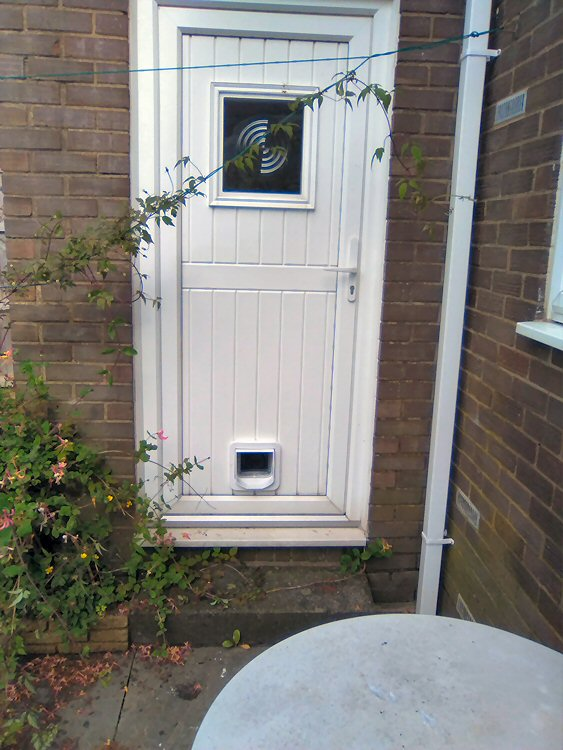 cat flap fitters Newcastle and Northumberland