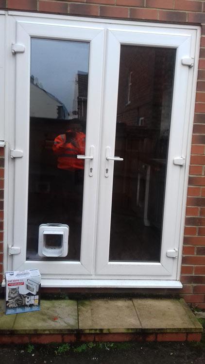 Cat flap installers Hartlepool