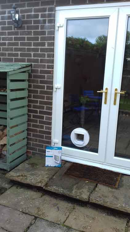 cat flap fitters Morpeth Northumberland