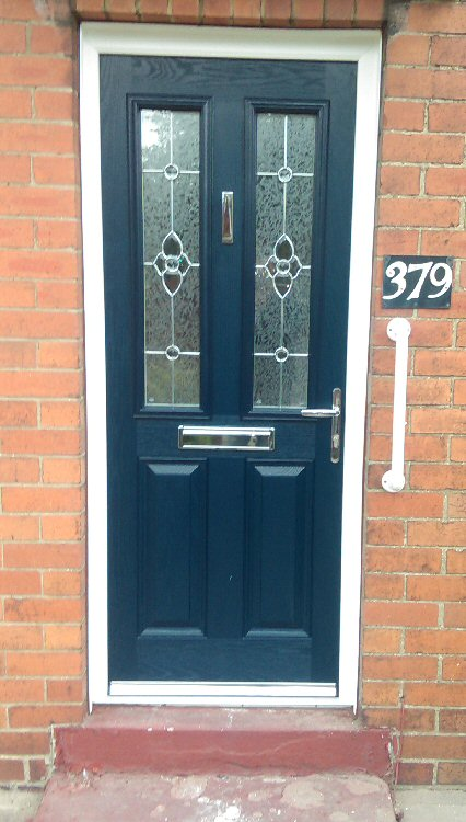 Coloured composite doors Northumberland