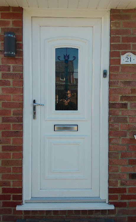 we can supply coloured composite doors North East
