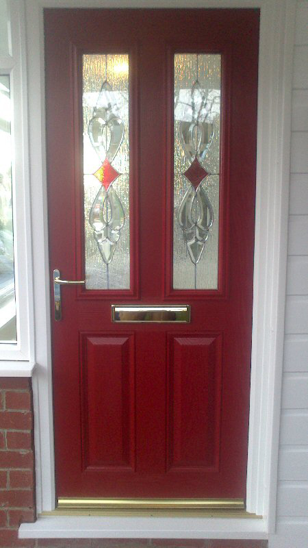 Any colour coloured composite doors Newcastle