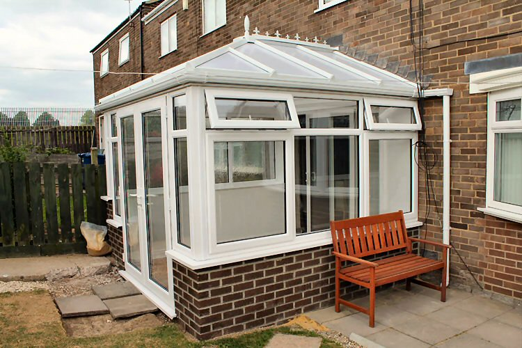 completed conservatory in West Denton