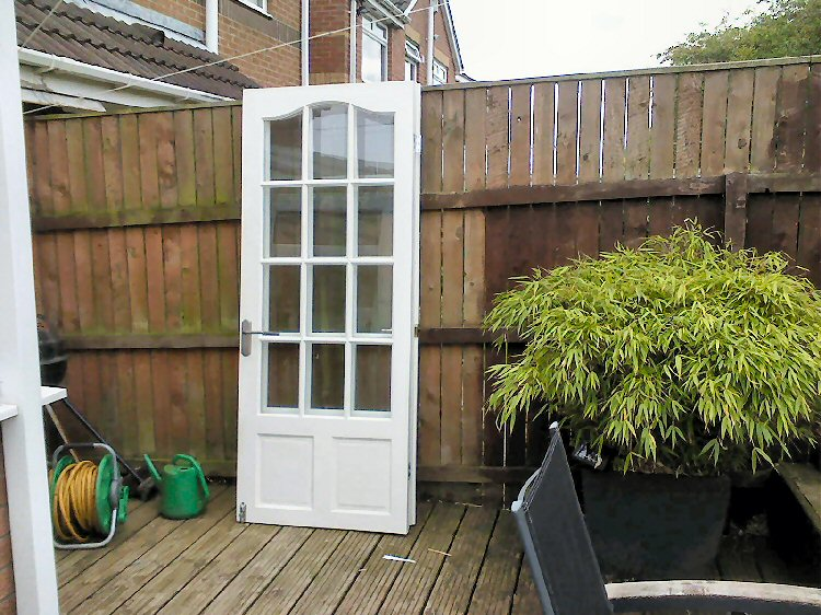 French door installers Newcastle