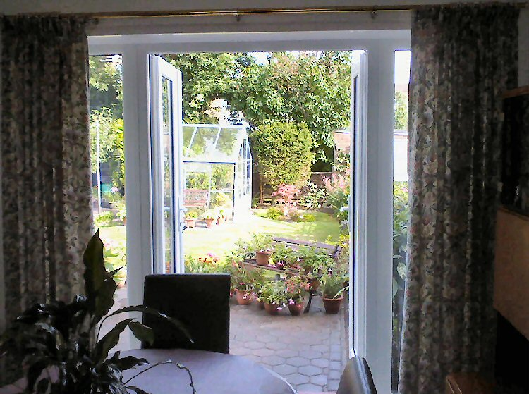 expertly fitted french doors Northumberland