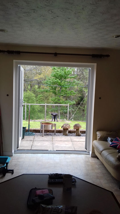 triple glazing kings, french door installed in Allendale
