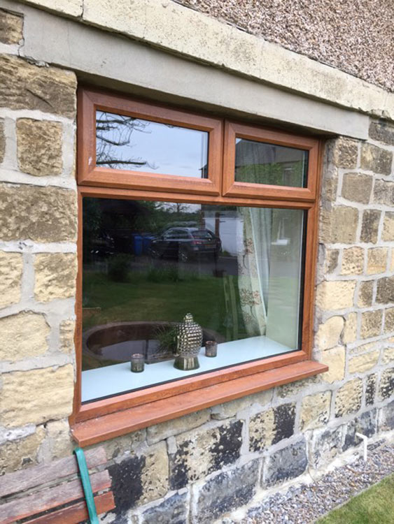 Glazier to remove window glass for furniture delivery Newcastle and the North East