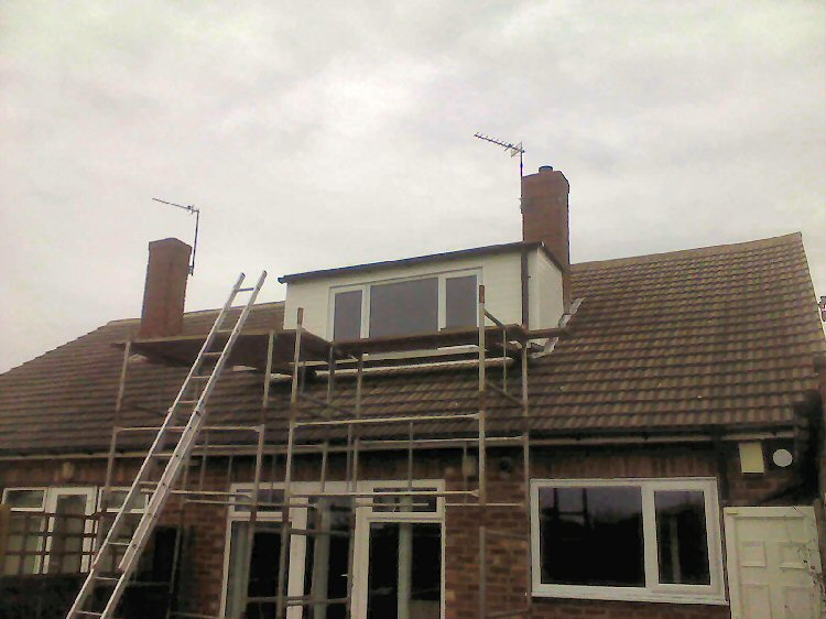 A-Rated double glazed dormer windows installer newcastle