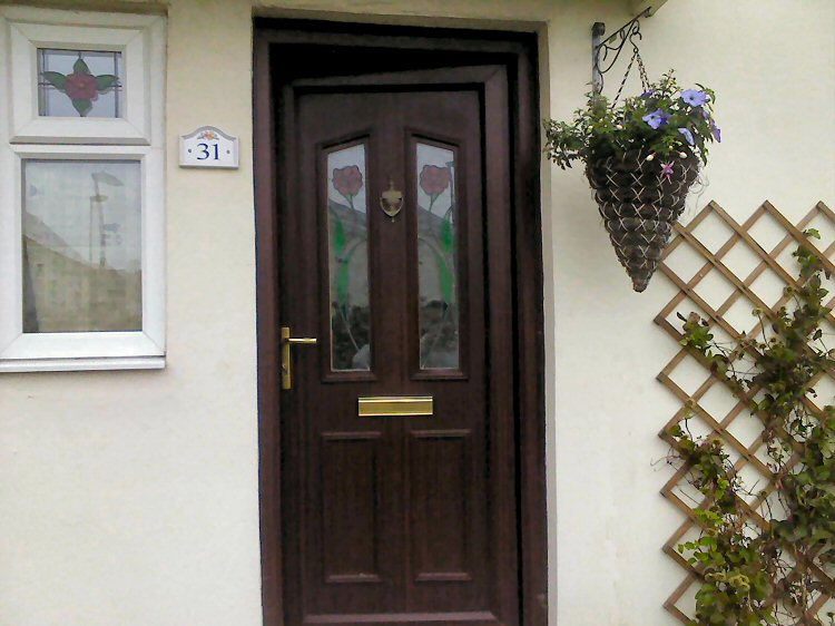 coloured composite doors North East installers