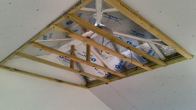 conservatory roof insulation system North East