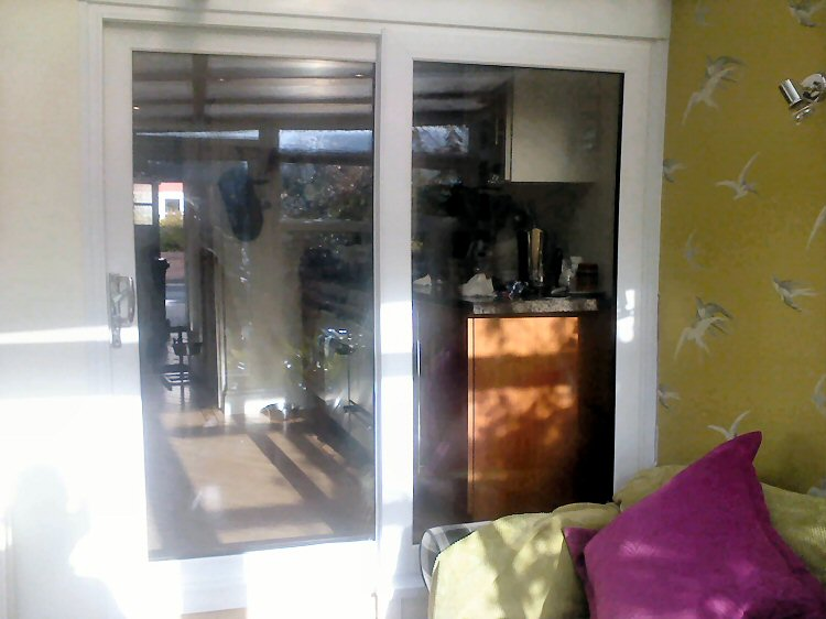 A-rated internal patio door installed