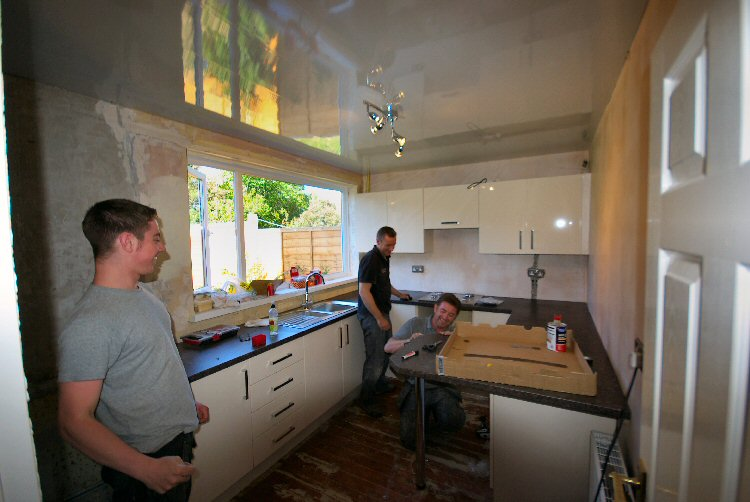 Newcastle kitchen fitters - Steve Waugh