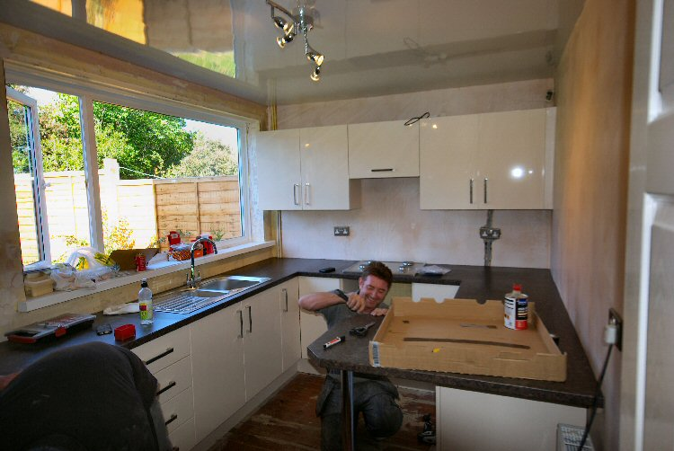 northumberland kitchen fitters - Steve Waugh