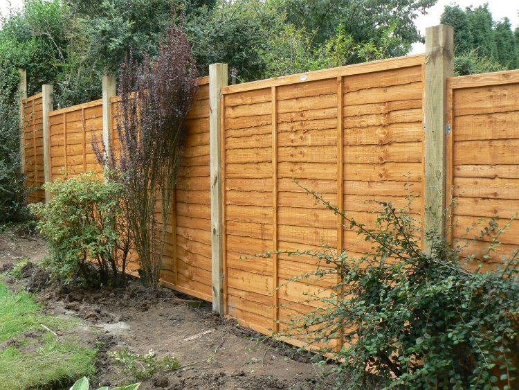 Garden Fencing Newcastle Erected By Dave Kendall Joinery