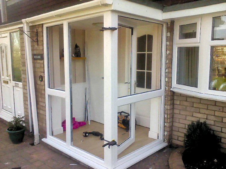 Newcastle Porch builders - Dave Kendall