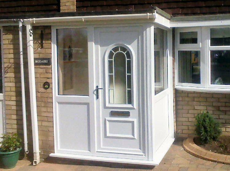 Pvc porches newcastle pvc porches north east dave kendall for Pvc porch door