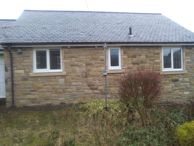 Energy efficient triple glazing for noise reduction Northumberland