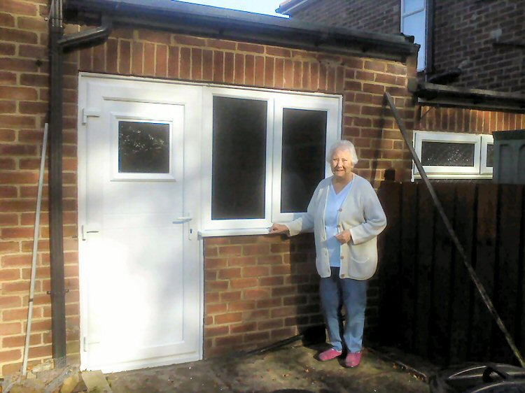 PVCu doors Newcastle Supply and Installation