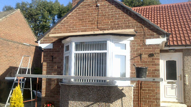 handmade window canopies North East