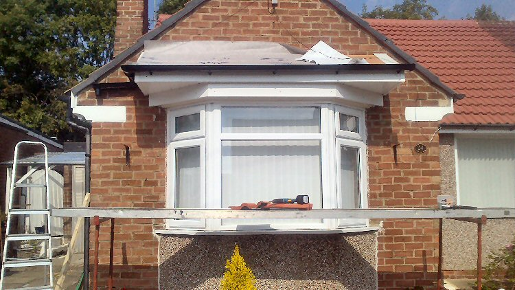 handmade bow window canopies north east bow and bay window canopies