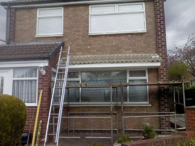 Bow and Bay window canopies Newcastle