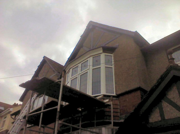 Kommerling replacement bay window installers Gateshead