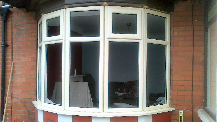 installation of coloured frames double glazing Blyth and Northumberland