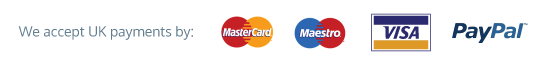 Pay for you windows with Visa, Maestro or Mastercard, powered by Paypal