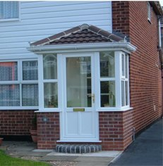 Porch builder Newcastle and door canopies Newcastle