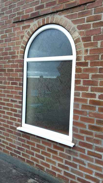 Arch window fitters Newcastle
