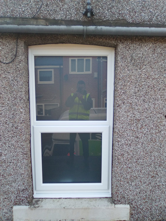 Rehau windows North East, supply only or fully fitted