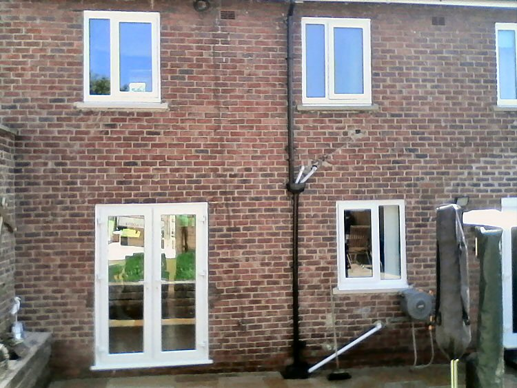 fully reversible Rehau windows Newcastle
